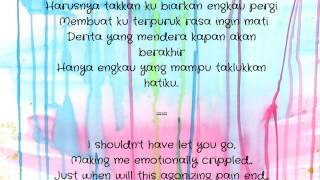 Aizat AF5 - Hanya Kau yang Mampu (Only You) ( MALAY LYRICS + ENG. TRANSLATIONS )