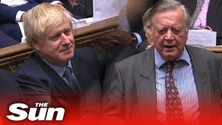 Ken Clarke gets his revenge on Boris Johnson as the MP labels him 'disingenuous'