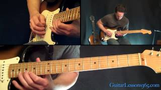 Time Guitar Solo Lesson - Pink Floyd - Famous Solos