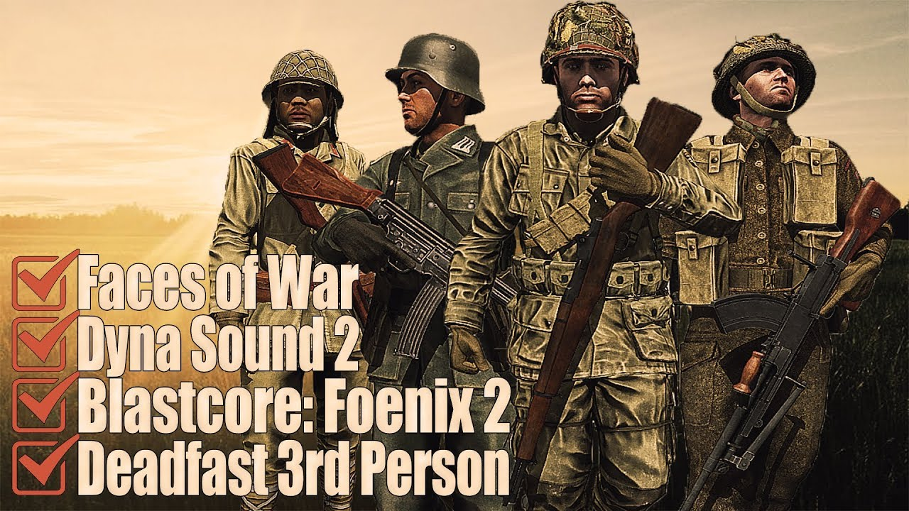 Best WWII mod ever created for ARMA III   Faces of War   Epic Compilation