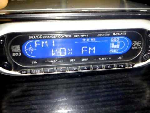 Wybitny Radio samochodowe / car radio SONY Cdx mp40 XPLOD - YouTube HD58