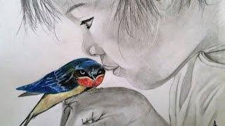 L'oiseau et l'enfant (instrumental par Jacky Vaubourg)