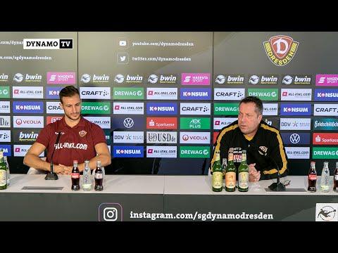 16. Spieltag   SGD - SCV   Pressekonferenz vor dem Spiel