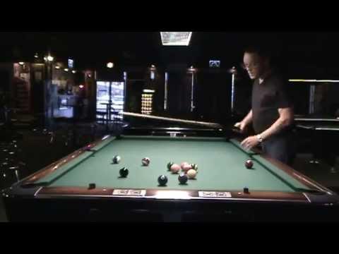 Straight Pool Match Ed Latimer Dennis Walsh June 2015