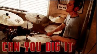 Can You Dig It (Iron Man 3 Main Titles) Drum Cover