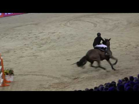Remco Been -  Lumen Ulady - 4e Barrage Provincie Noord Holland Prize, Jumping Amsterdam 29-1-2017