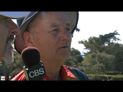 Bill Murray comments during Round 3 of AT&T Pebble Beach