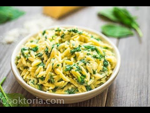 Creamy Spinach Orzo