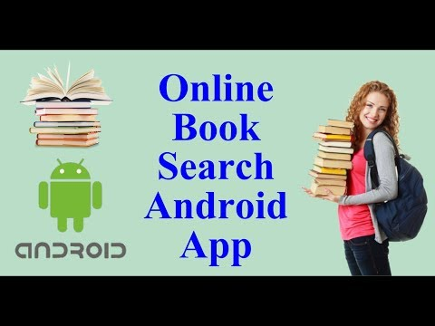 Online Book Search Android App - Android Project