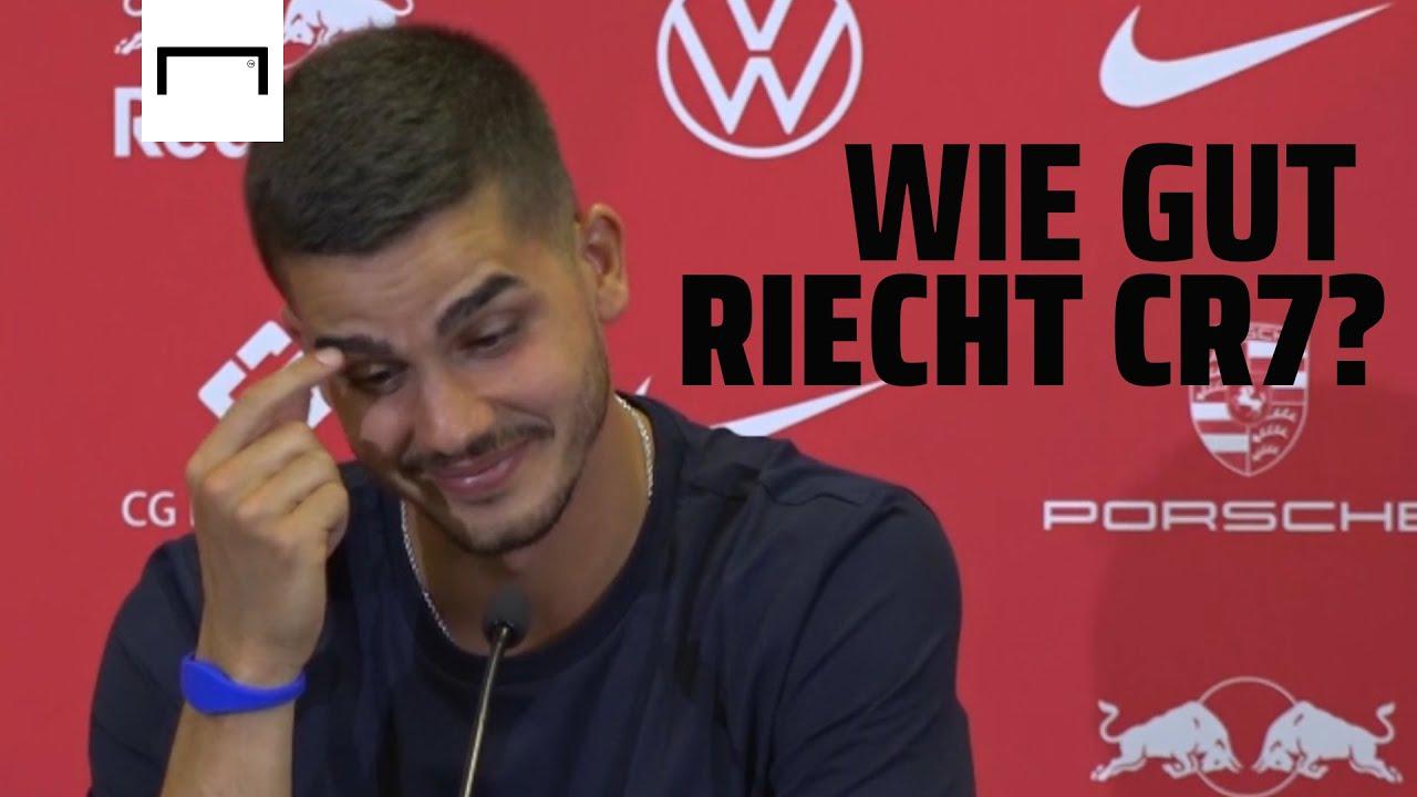 """""""Wie gut riecht Cristiano Ronaldo?"""" - Leipzig stellt Andre Silva vor und dann kommt diese Frage"""