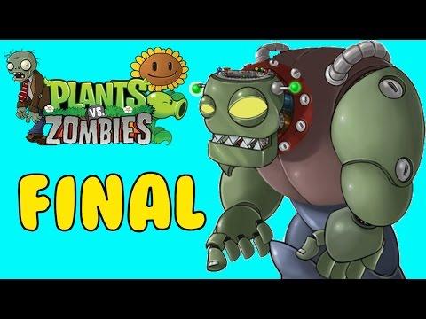 Финал игры Растения против Зомби на Xbox One в Мультиплеере | Зомбосс
