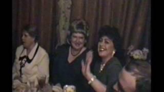 Юбилей свадьбы Советовых Михаила и Веры 15 лет Хрустальная свадьба 1998 год