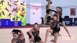Художественная гимнастика супер выступление