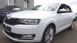 2017 Skoda Rapid. Start Up, Engine, and In Depth Tour.