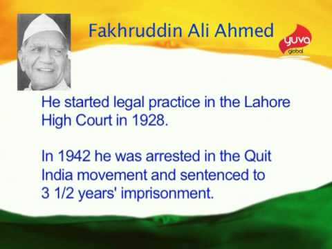essay on fakhruddin ali ahmed