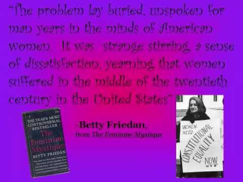 Second Wave Feminist Movement