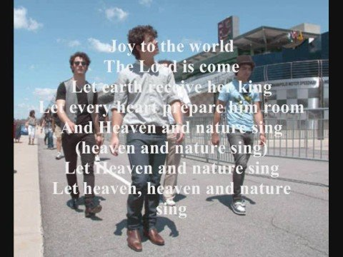 Joy to the World by Jonas Brothers Song! w/Lyrics and HQ