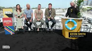 IMDb at San Diego Comic-Con (2016-)Olivia Munn and Cast Explain How 'Predator' Pays Homage to the.