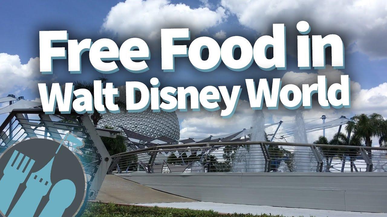 Where to Get Free Food in Walt Disney World!