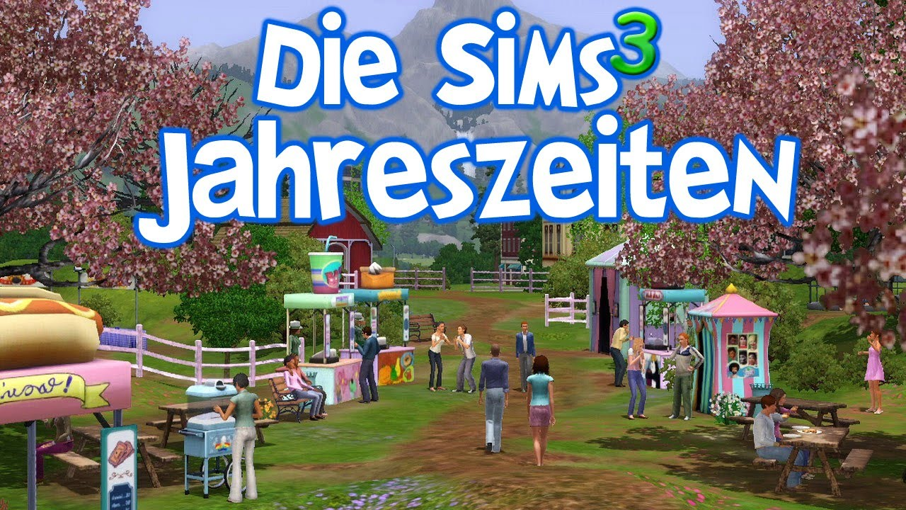 die sims 3 jahreszeiten erste eindr cke deutsch full hd youtube. Black Bedroom Furniture Sets. Home Design Ideas