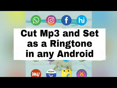 How To Cut Mp3 and Set As Ringtone in Android