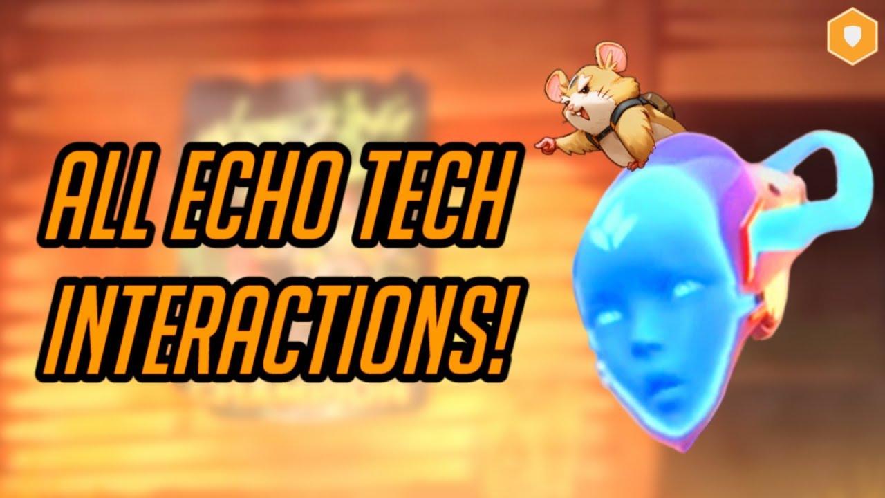 "Download Echo Tech Interactions - TANKS | Overwatch ""Mimic Echo"" Hero Concept Ability Breakdown"