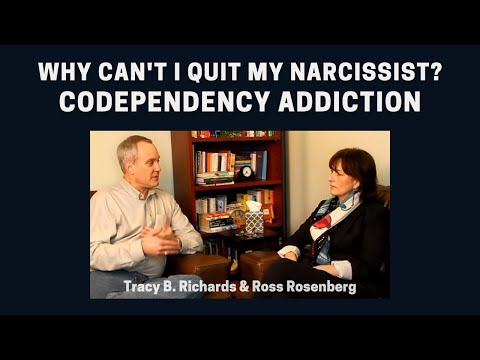Why Can't I Quit My Narcissist?  Codependency Addiction. Self-Love Deficit Disorder