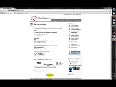 Darmowy hosting www, na zagranicznym serwerze