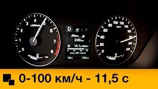 Hyundai Creta 2.0 4WD 2016 Разгон смотреть