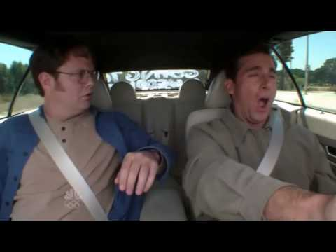 The Office Michael Falls Asleep While Driving Youtube