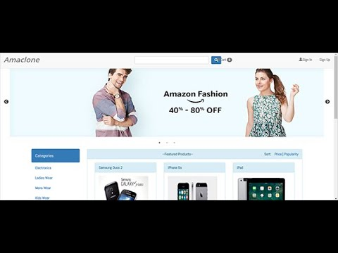 Online Shopping site using PHP | Download for Free | Source Code & Projects
