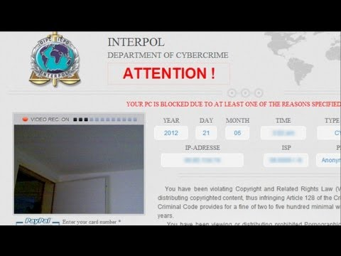How to Remove Interpol Department Of Cybercrime virus step by step