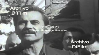 DiFilm - Discurso de Jose Rucci en aniversario de Augusto Vandor 1973