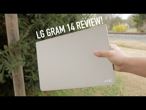 LG Gram 14 Review! (vs Apple Macbook Air)