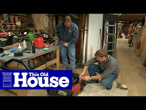 How to Maintain a Lawn Mower | This Old House