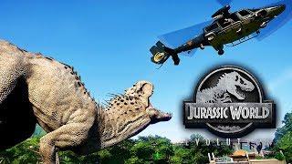 Jurassic World Evolution Gameplay German #34 - Indominus-Rex erforschen