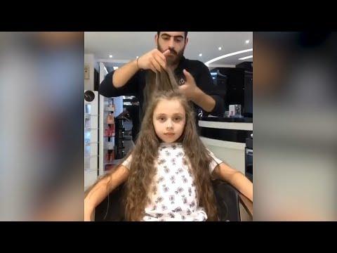 感觉好看! 老外理发师帮圆脸的美女换个发型后颜值直线飙升!P2