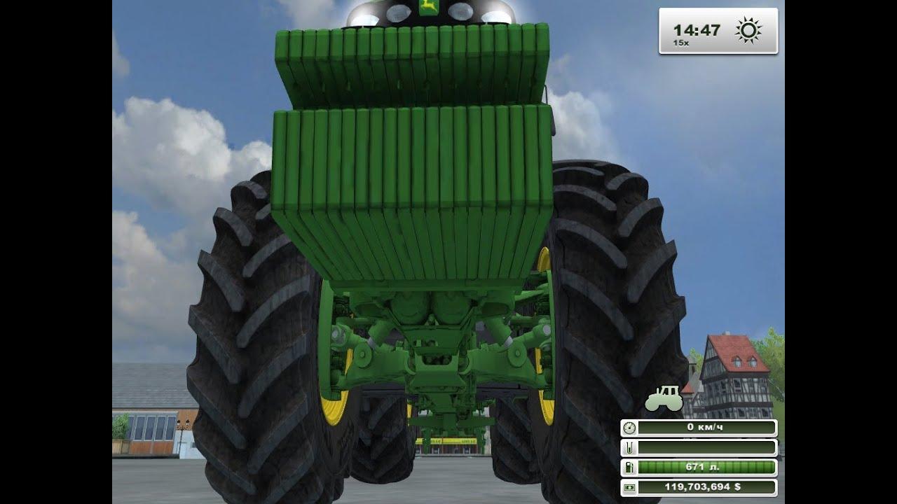 Видео про игру farming simulator 2013