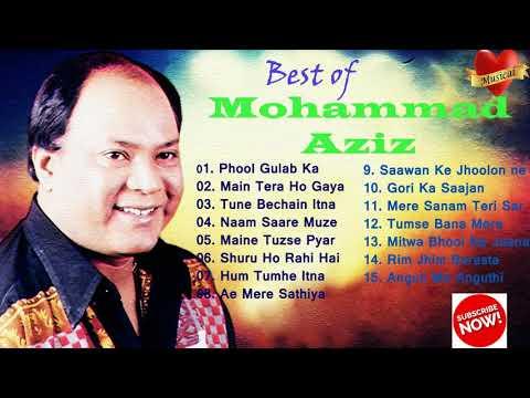 Best of Mohammad Aziz !! Mohammad Aziz song!! MP3 song of Mohammad Aziz !! Mohammad aziz ke Gaane !