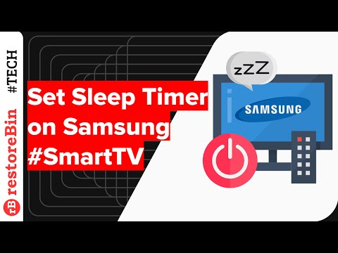 Easily enable Sleep timer on Samsung Smart TV for auto shutdown