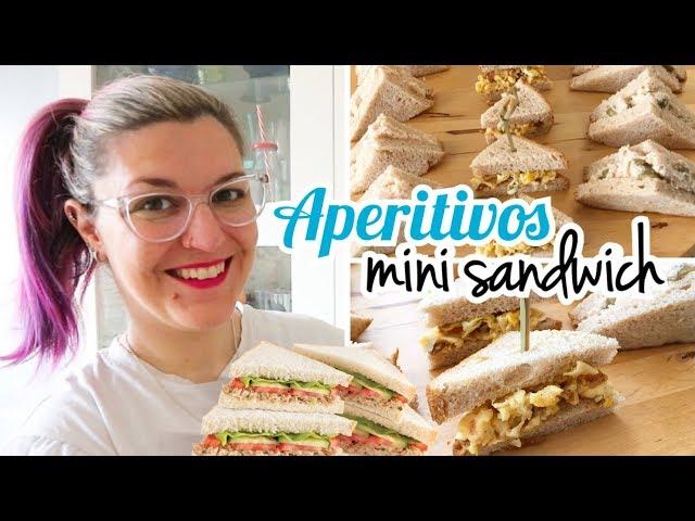 APERITIVOS FÁCILES Y RÁPIDOS | Mini Sandwiches