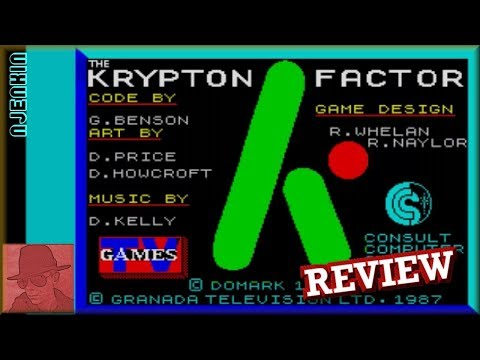 The Krypton Factor - on the ZX Spectrum 48K !! with Commentary