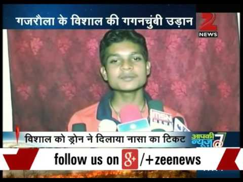 "Boy from U.P. made ""Desi"" drone from household electronic waste"