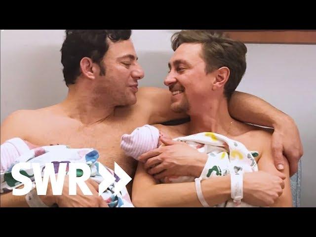 Zwei Väter, zwei Babys - Schwule Eltern im Alltag | Mensch Leute
