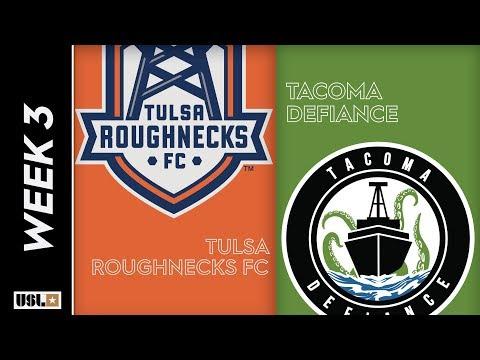 Tulsa Roughnecks FC vs Tacoma Defiance: March 23rd, 2019