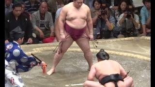 平成27年5月場所千秋楽 遠藤 対 旭天鵬