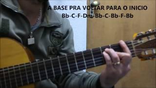 VENHA O TEU REINO DAVI SACER... VIDEO AULA DE VIOLÃO...