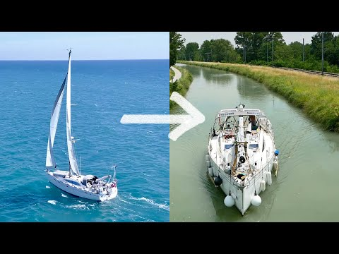 How We Turned Our Sailboat Into A Canal Boat: Preparing For The French Canals | Sailing Ruby Rose
