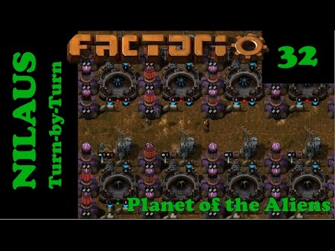 Lets Play Factorio S5E32 - Critter farming moving to Europe
