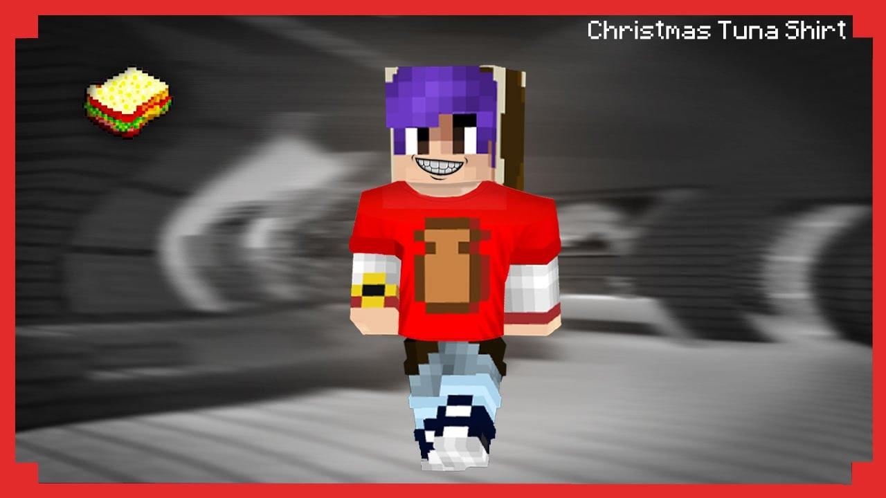 How to make a Christmas Tuna Shirt | Minecraft - YouTube